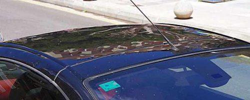 Hagelschaden PKW Dach
